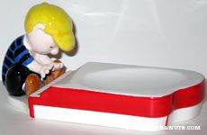 Schroeder and Piano Soap Dish