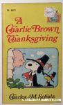 A Charlie Brown Thanksgiving Books