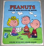 Peanuts & Snoopy Kids' Color & Recolor Books & Cloths