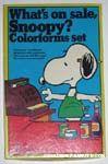 Peanuts & Snoopy Colorforms