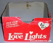 Snoopy Love lights Box