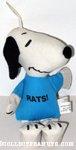 Snoopy 'Rats' Bean Bag Doll