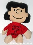 Lucy 'Being Boss is Best' Bean Bag Doll