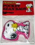 Snoopy hugging Woodstock Pocket Bean Bag