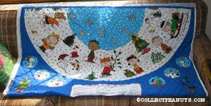 A Charlie Brown Christmas Tree Skirt