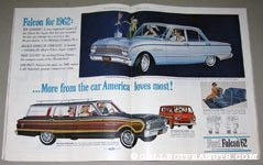 Ford Falcon 1962 Full Color Ad Spread