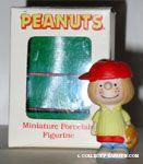 Peppermint Patty playing Baseball Figurine