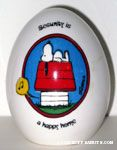 Peanuts & Snoopy Egg Figurines