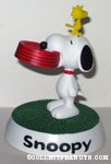 Snoopy with Dogdish and Woodstock Figurine