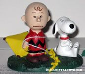 Charlie Brown and Snoopy with Kite