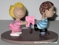 Sally giving Linus a Valentine