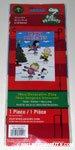 Peanuts Gang skating 'Happy Holidays' Mini Flag