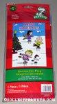 Peanuts Gang skating 'Happy Holidays' Flag