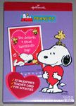 Snoopy holding heart and Woodstock Box of Valentine Cards