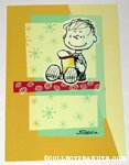Linus with box Greeting Card
