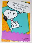 Snoopy friends Greeting Card