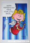 Sally Angel Father's Day Greeting Card