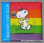 Peanuts & Snoopy Fan Club Pinback Buttons