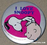 Peanuts & Snoopy Denz Pinback Buttons