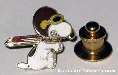 Snoopy Flying Ace Tie Tack