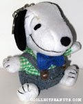 Peanuts & Snoopy Plush Keychains