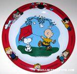 Charlie Brown flying Kite Melamine Plate