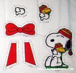 Snoopy Hugging Woodstock