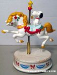 Peanuts & Snoopy Willitts Designs Carousel Horses Musicals