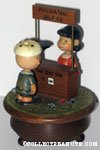 Charlie Brown and Lucy Doctor's Booth Musical