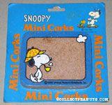 Snoopy wearing hat and smoking pipe Mini Cork Board
