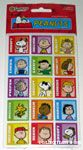 Peanuts Squares with names Stickers