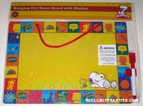Snoopy & Woodstock laughing Dry Erase Board