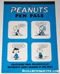 Peanuts Pen Pals Memo Pad