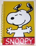 Snoopy dancing Spiral-Bound Journal