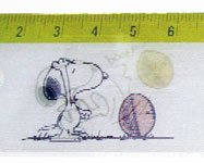 Snoopy and Woodstock Lenticular Ruler