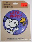 Peanuts & Snoopy Hallmark Pinback Buttons