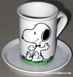 Snoopy & Woodstock Mug & dish Planter