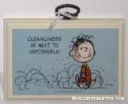 Cleanliness is next to impossible Plaque