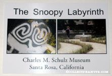 Snoopy Labyrinth at Charles M. Schulz Museum Postcard