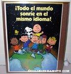 Peanuts Gang in Space '!Todo el mundo sonrie en el mismo idioma Poster