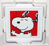 Snoopy Dancing Framed Print