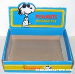 Butterfly Originals Peanuts Message Set Display Box