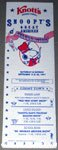 Knott's Berry Farm Snoopy's Great American Celebration Brochure