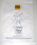 Charlie Brown jumping Schulz Museum Small Bag