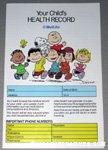 Peanuts Gang Metlife Child's Health Record