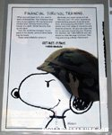 Army Snoopy Metlife Magazine Ad