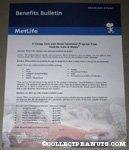 Snoopy Metlife Benefits Bulletin