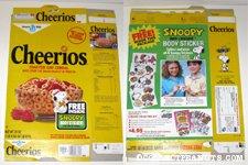 Peanuts Gang Cheerios Box - Body Stickers