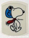 Snoopy Flying Ace Shrinky Dink
