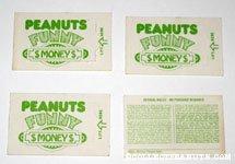 Peanuts Funny Money
